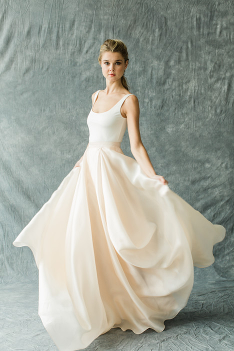 Kensington (top)+Mulberry (skirt)(2) Wedding dress by Carol Hannah : Synthesis