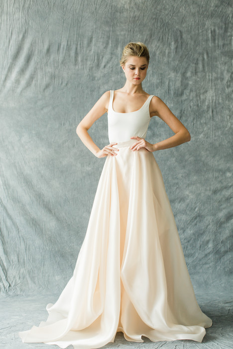 Kensington (top) + Mulberry (skirt) Wedding dress by Carol Hannah : Synthesis