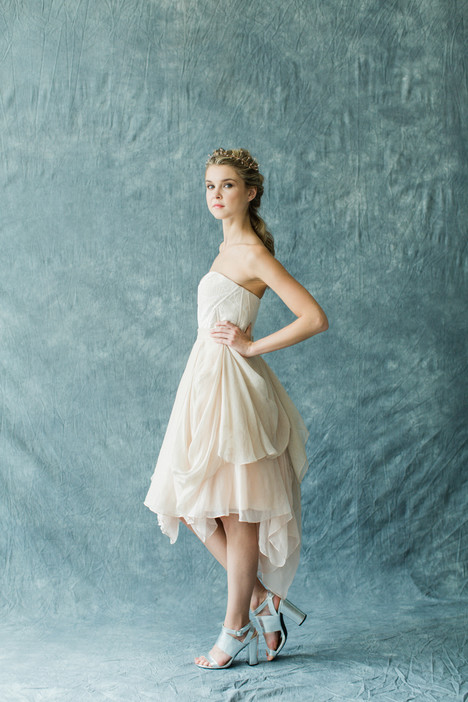 Monarch + Kensington Shorty (skirt) Wedding                                          dress by Carol Hannah : Synthesis
