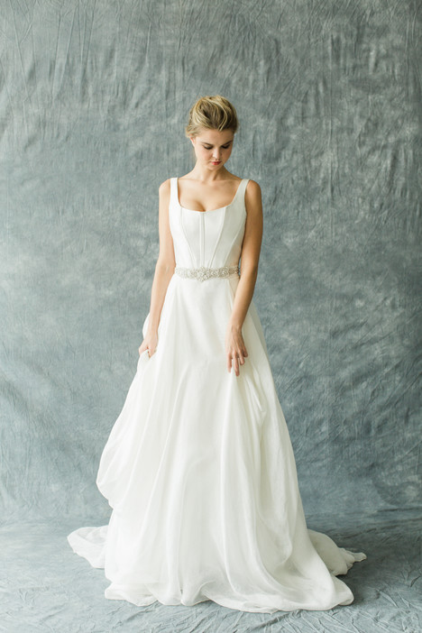 Thaleia (top) + Kensington (skirt) Wedding dress by Carol Hannah : Synthesis