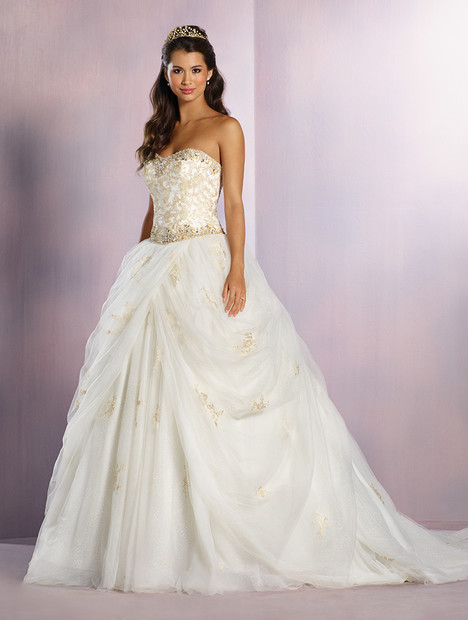 254 Belle (gold) Wedding dress by Alfred Angelo : Disney Fairy Tale Bridal
