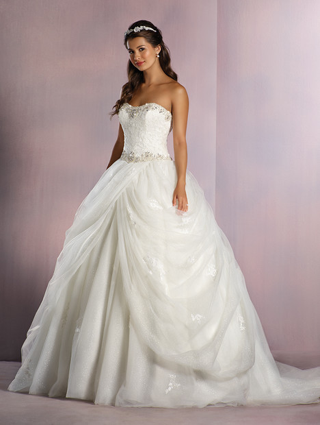 254 Belle (ivory) Wedding                                          dress by Alfred Angelo : Disney Fairy Tale Bridal
