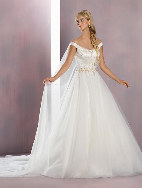 259 Elsa (gold) Wedding                                          dress by Alfred Angelo : Disney Fairy Tale Bridal
