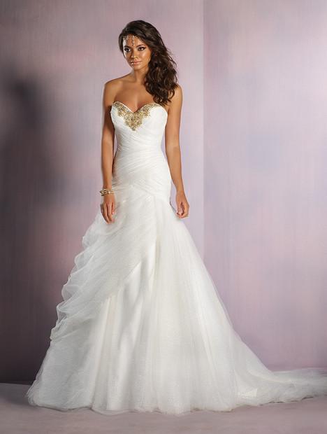 261_Jasmine (gold) Wedding                                          dress by Alfred Angelo : Disney Fairy Tale Bridal