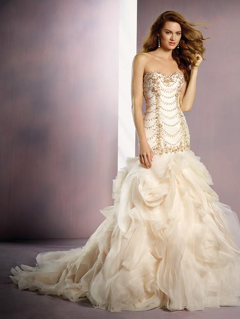 263 Ariel (gold) Wedding                                          dress by Alfred Angelo : Disney Fairy Tale Bridal