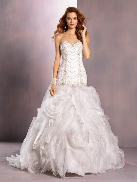 263 Ariel (ivory) Wedding                                          dress by Alfred Angelo : Disney Fairy Tale Bridal