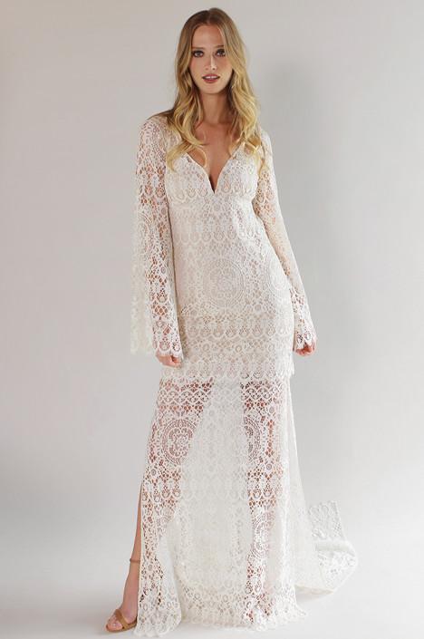 Coachella Wedding                                          dress by Claire Pettibone Couture
