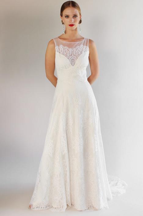 La Cienega Wedding                                          dress by Claire Pettibone Couture