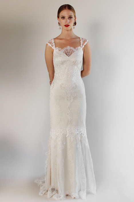 Bel Air Wedding                                          dress by Claire Pettibone: Couture