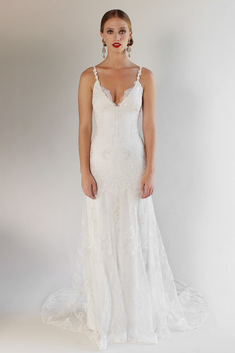 Santa Monica Wedding                                          dress by Claire Pettibone: Couture