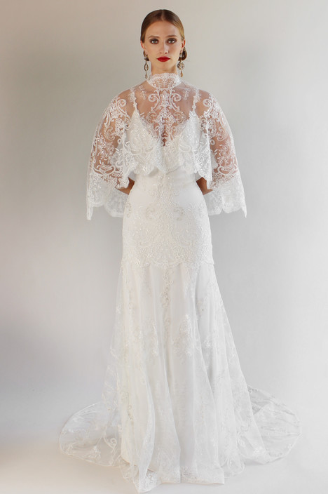 Santa Monica (with cape) Wedding                                          dress by Claire Pettibone: Couture