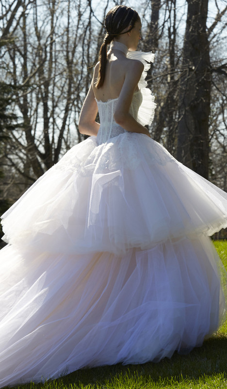 Sigourney Wedding                                          dress by Vera Wang