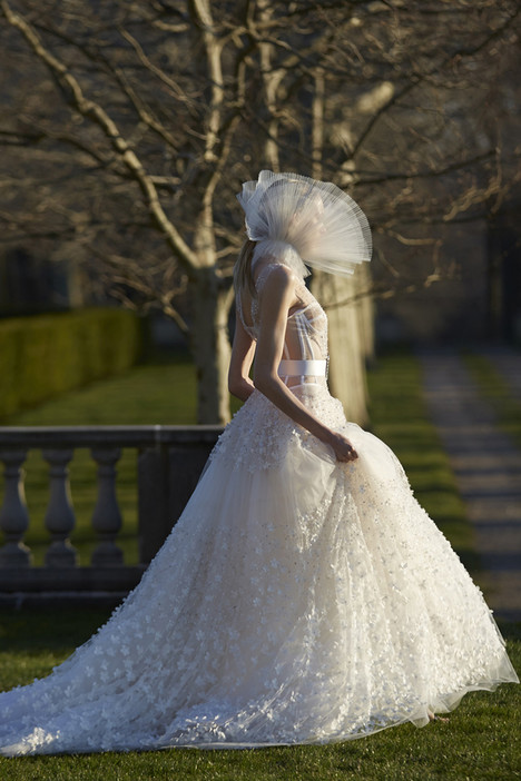 Viola Wedding                                          dress by Vera Wang