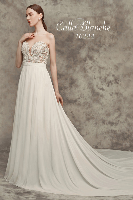 Wedding dress by Calla Blanche
