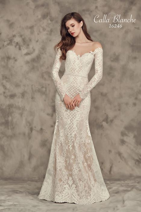 16246 Wedding                                          dress by Calla Blanche