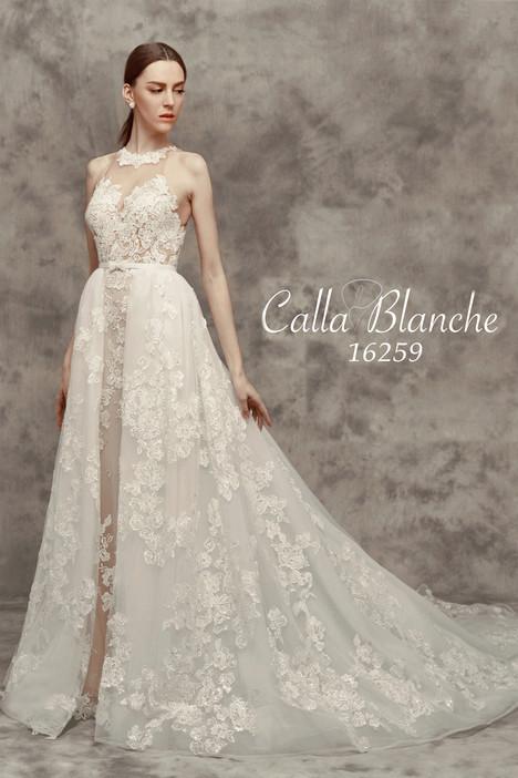 16259 (+ overskirt) Wedding                                          dress by Calla Blanche