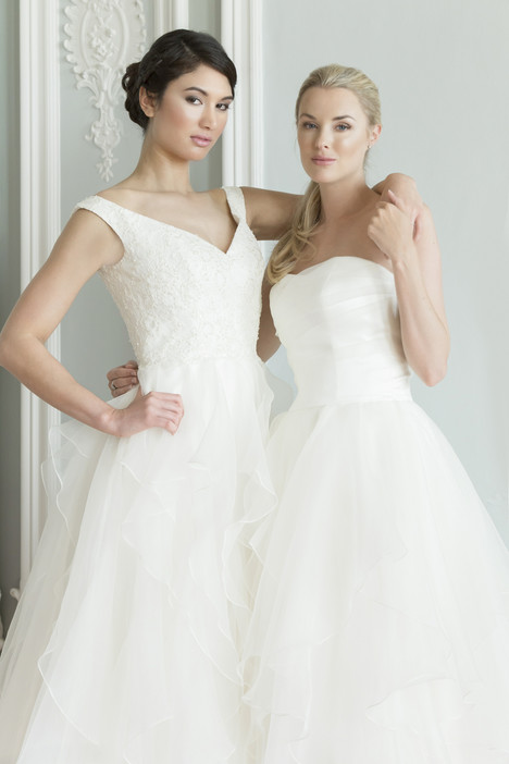 Lyla & Maddie gown from the 2017 Augusta Jones collection, as seen on dressfinder.ca