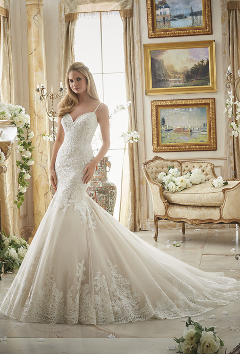 Style 2871 gown from the 2016 Morilee Bridal collection, as seen on dressfinder.ca