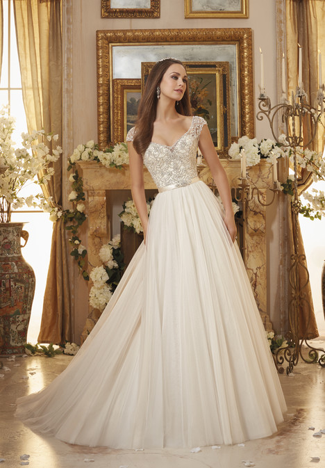 Style 5476 gown from the 2016 Morilee Blu collection, as seen on dressfinder.ca