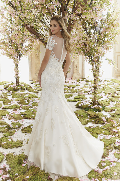 6832 (back) Wedding                                          dress by Mori Lee: Voyage