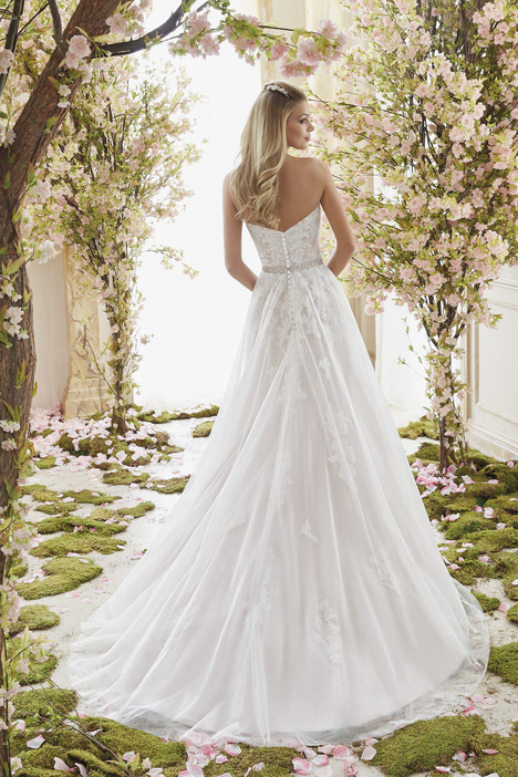 6834 (back) Wedding                                          dress by Mori Lee: Voyage
