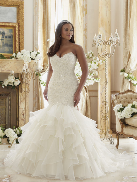 3201-0031 Wedding                                          dress by Mori Lee: Julietta
