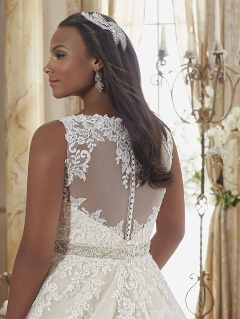 3208 (back) Wedding                                          dress by Mori Lee: Julietta