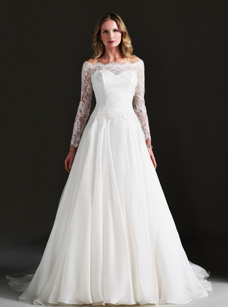 Bellini (+ Malaysia shrug) Wedding                                          dress by Caroline Castigliano