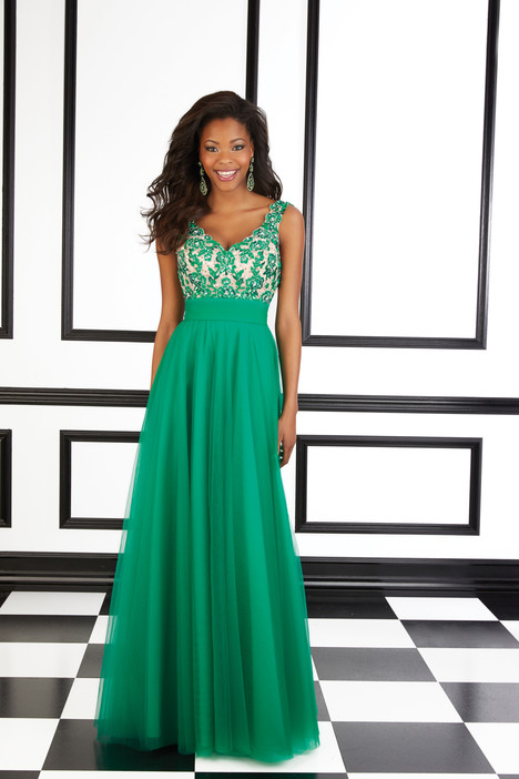 98607 (green) gown from the 2016 Mori Lee Prom collection, as seen on dressfinder.ca