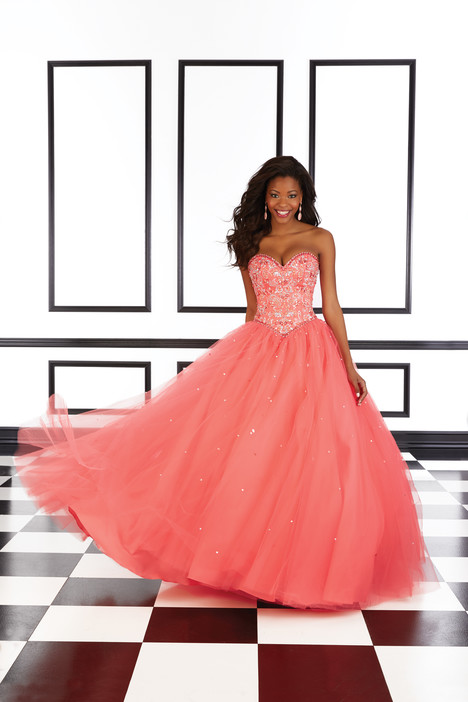98610 (salmon) gown from the 2016 Mori Lee Prom collection, as seen on dressfinder.ca