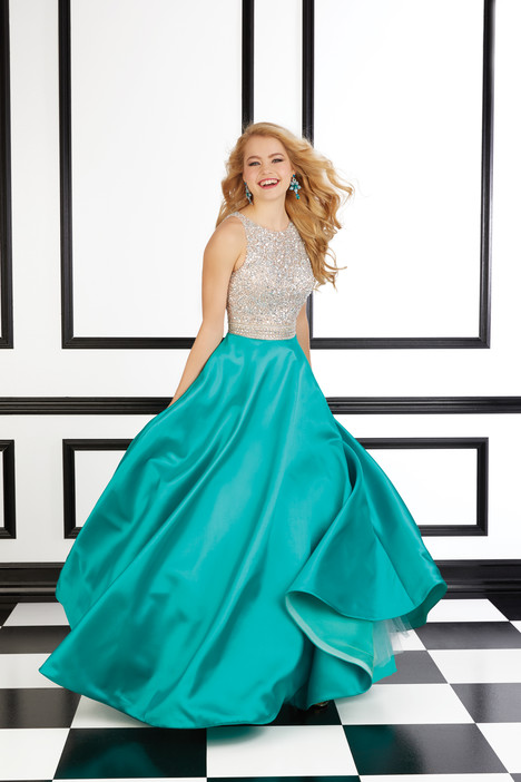 98620 (turquoise) Prom                                             dress by Mori Lee Prom