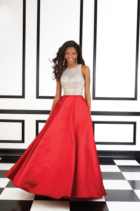 98620 (red) Prom                                             dress by Mori Lee Prom