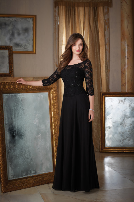 71413 (black) gown from the 2016 MGNY Madeline Gardner collection, as seen on dressfinder.ca