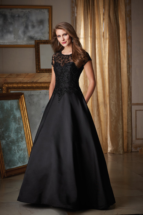 71422 (black) gown from the 2016 MGNY Madeline Gardner collection, as seen on dressfinder.ca