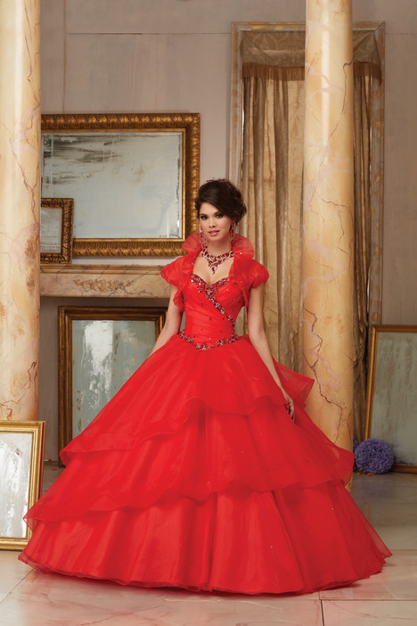 60001 (red) Prom                                             dress by Mori Lee : Valencia
