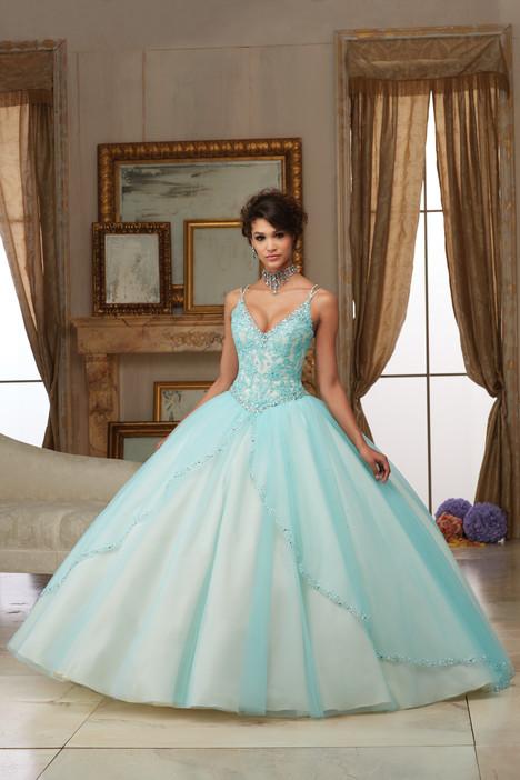 60002 (light blue) Prom                                             dress by Morilee Valencia