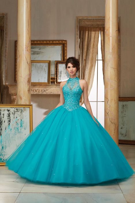 60004 (blue) Prom                                             dress by Mori Lee : Valencia