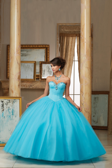 60005 (blue) Prom dress by Morilee Valencia