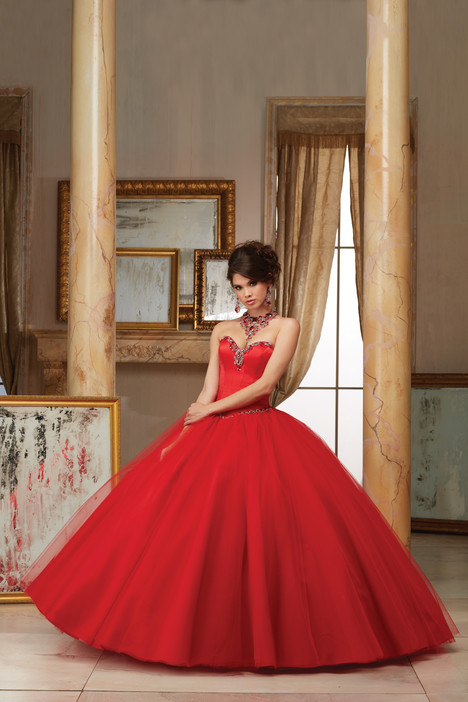 60005 (red) Prom dress by Morilee Valencia