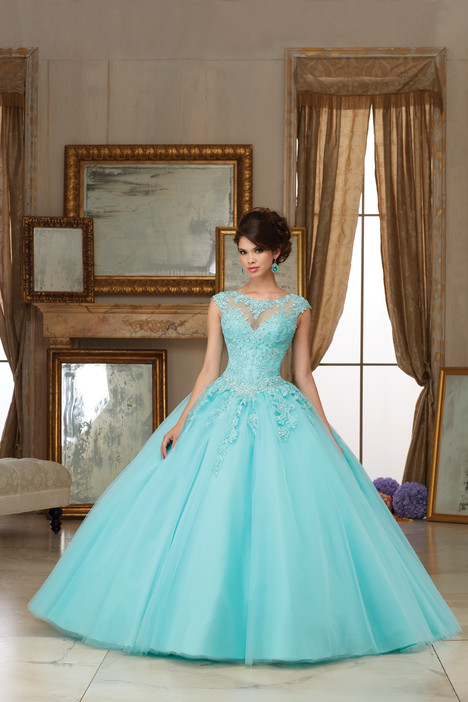 60006 (light blue) Prom                                             dress by Morilee Valencia