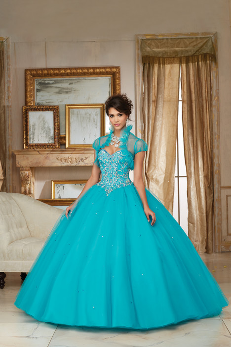 60007 (blue) Prom                                             dress by Morilee Valencia