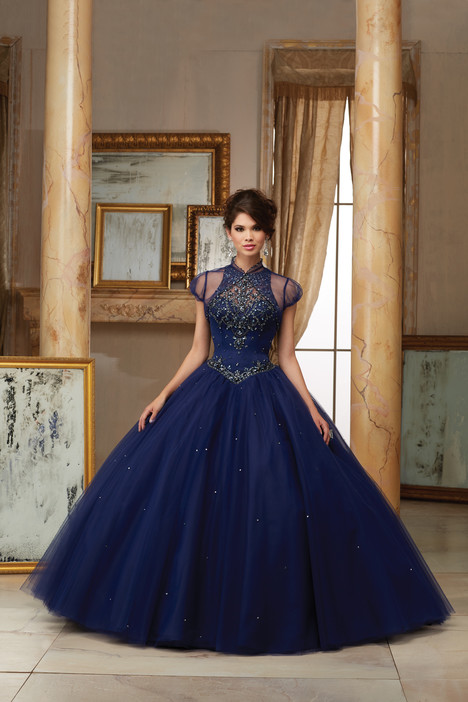 60008 (navy) Prom dress by Morilee Valencia