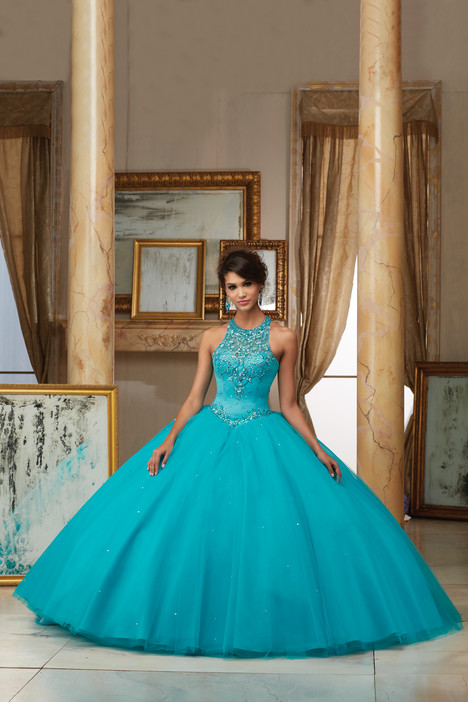 60008 (turquoise) Prom                                             dress by Morilee Valencia