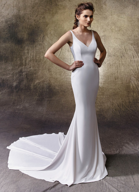 Lacy gown from the 2017 Enzoani collection, as seen on dressfinder.ca