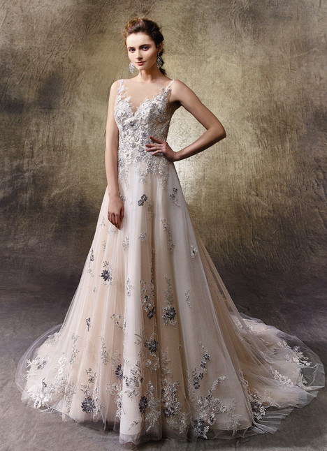 Loraine gown from the 2017 Enzoani collection, as seen on dressfinder.ca