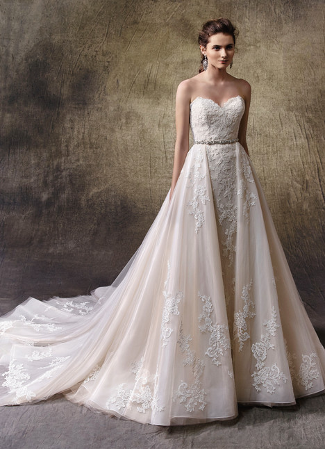 Lucie (+over skirt) Wedding dress by Enzoani