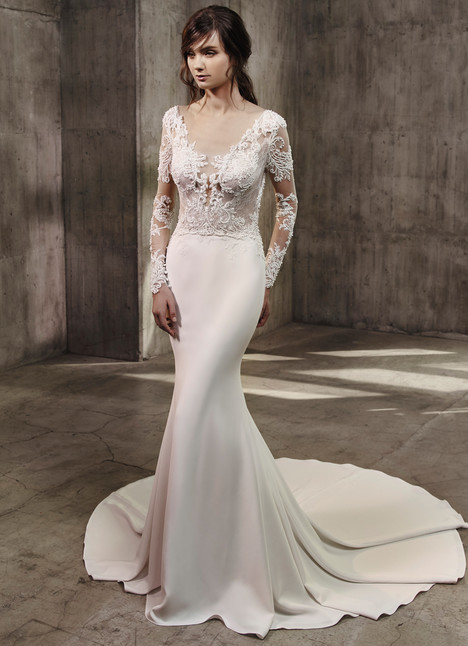 Alexis Wedding                                          dress by Badgley Mischka Collection