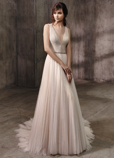 Alessandra Wedding                                          dress by Badgley Mischka Bride