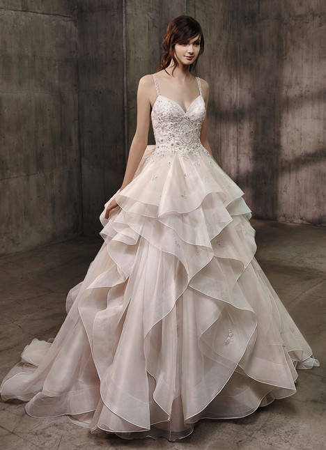 Allison Wedding                                          dress by Badgley Mischka Bride