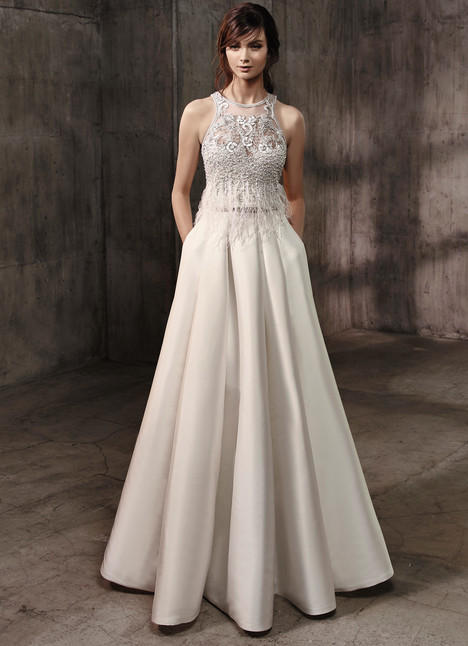 Amari (top) + Aidan (skirt) Wedding                                          dress by Badgley Mischka Bride